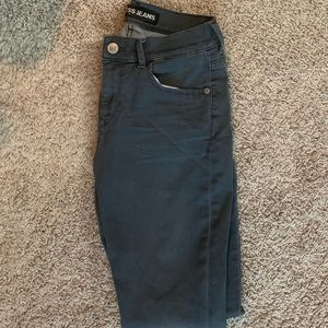 Soft grey size two express jeans